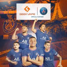 基克纳(GEEKVAPE)成为巴黎圣日尔曼俱乐部全球官方合作伙伴