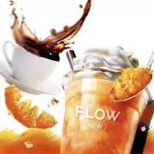 FLOW福禄电子烟烟弹新口味评测-香橙美式