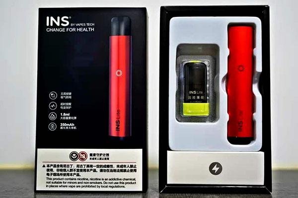 INS Lite电子烟评测:初见懵懂,再见欢喜